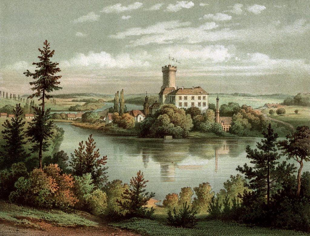 zamek w łagowie