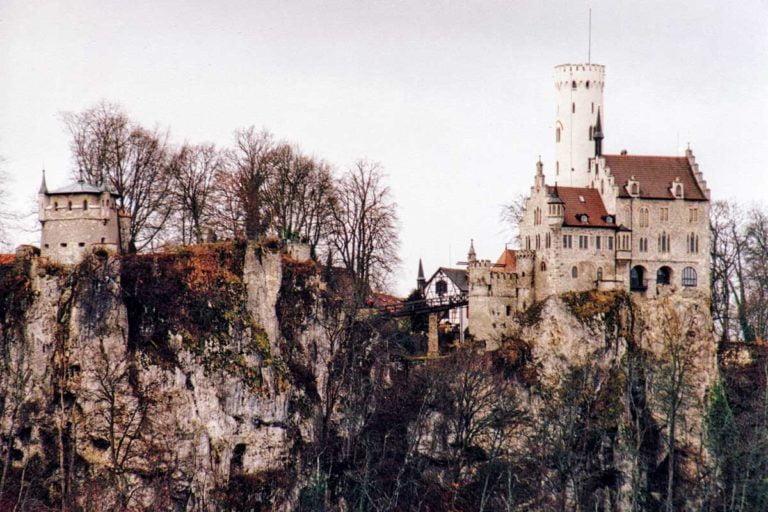 Zamek Lichtenstein w Badenii Wirtembergii