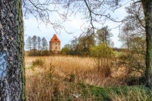 Wieża rycerska w Dzietrzychowicach