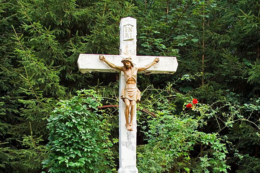 Krzyż kamienny w Gainsheim