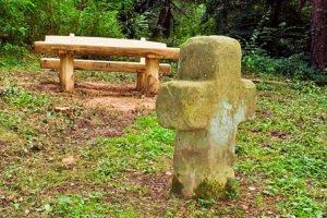 Krzyż kamienny w Schwegenheim