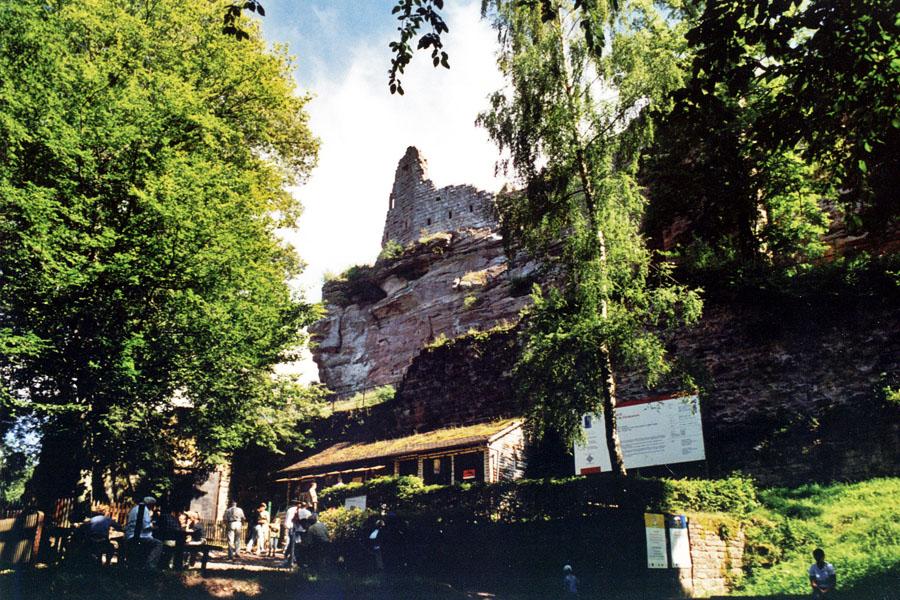 zamek fleckenstein