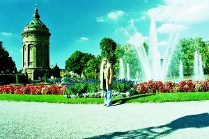 Wieża ciśnień w Mannheim