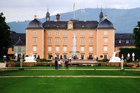 Pałac Schwetzingen-Schloß