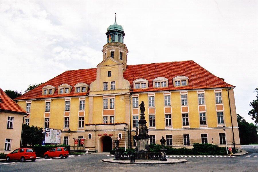 Zamek w Wołowie
