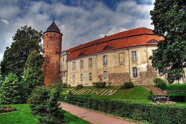 Zamek w Świdwinie