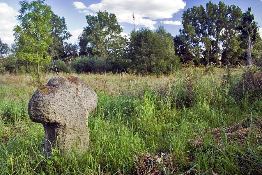 Krzyż kamienny w Gołaszynie