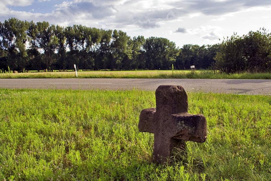 Krzyż kamienny w Hanhofen