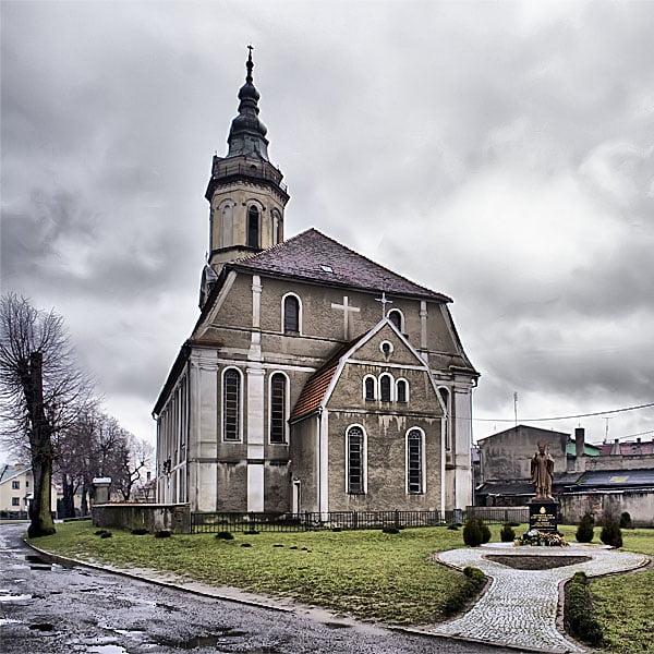Dawny kościół ewangelicki w Nowym Miasteczku