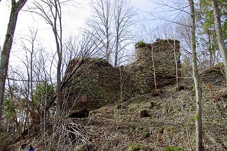 Zamek Schenkenburg w Epfendorf