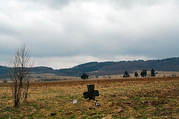 Krzyż pokutny w Krzeszowie