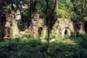 Ruina kościoła w Zatoniu