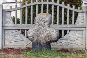 Krzyż kamienny w Szprotawie